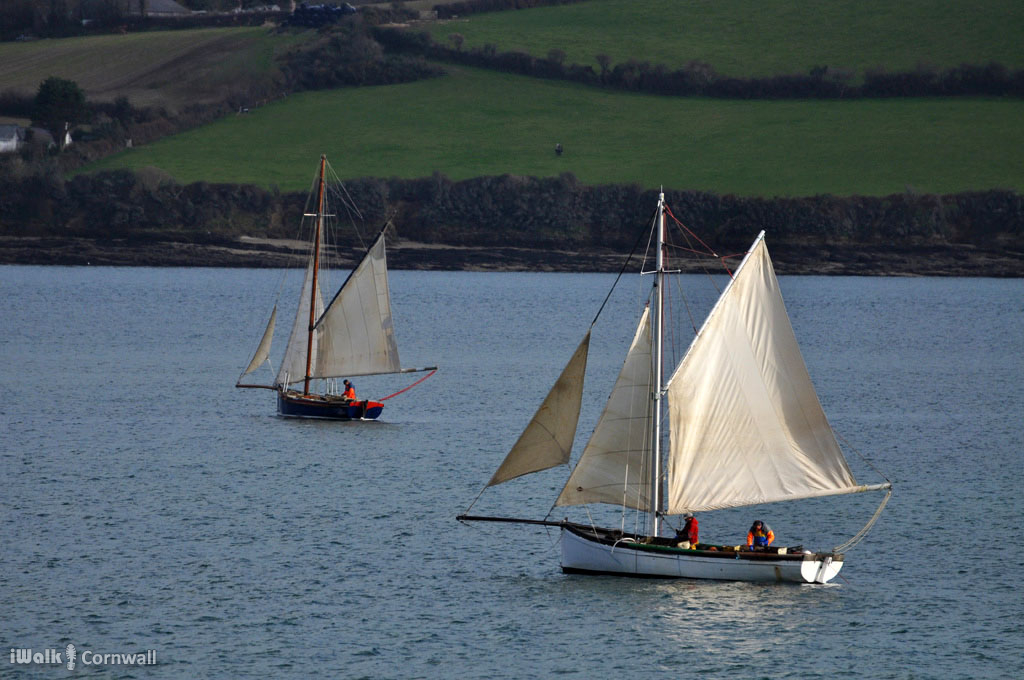 Mobile app for mylor to flushing circular walk for Large fishing boats